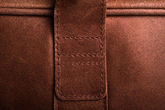 Skórzana torba Elegancja i nowoczesność Jasny brąz