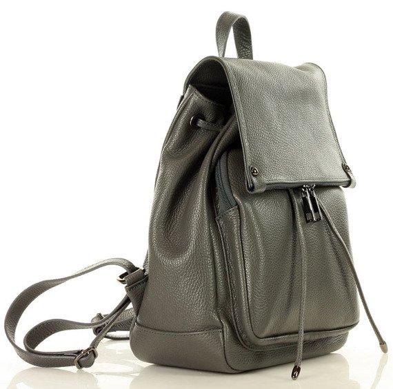 Skórzany plecak damski AMBER