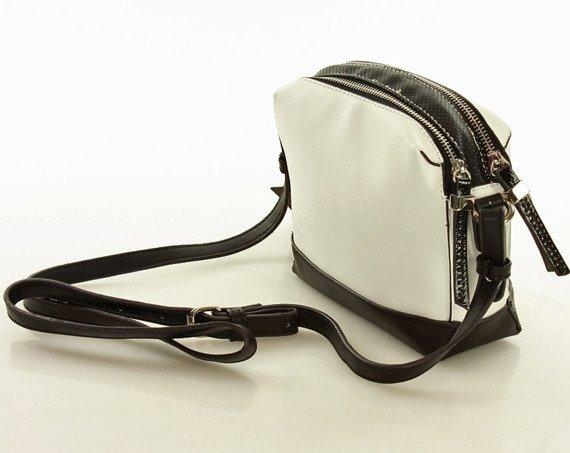 Eva Minge Femestage Zmysłowa torebka listonoszka biały