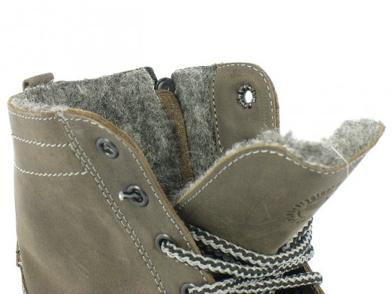 KULTOWE Fenomenalne Skórzane WORKER Boots