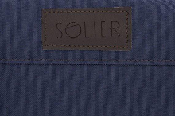 Męska torba sportowy styl Solier FRASER niebieski