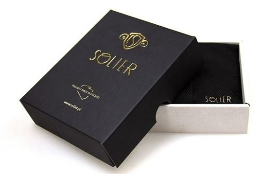 Skórzana bilonówka, portfel na monety SOLIER S CAMEL REESE