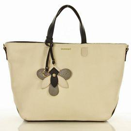 MONNARI Stylowa torba shopper bag jasny jasny beżowy